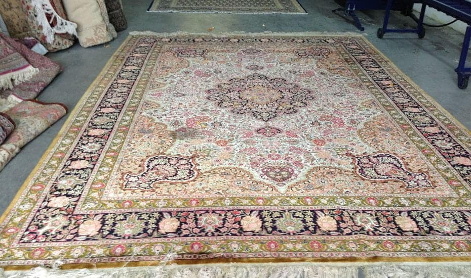 Rug Stain Removal Services After